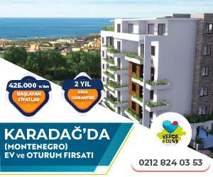 Karadağ Kare Banner